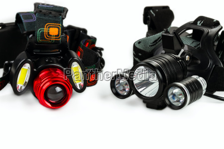 anodized aluminium waterproof tactical flashlight headlamp