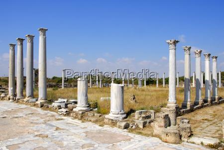 ancient saulen high school archaeological site