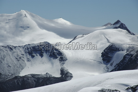 snow ice and glaciers in the