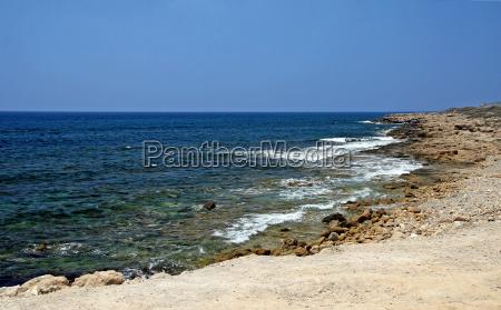 beach paphos cyprus europe