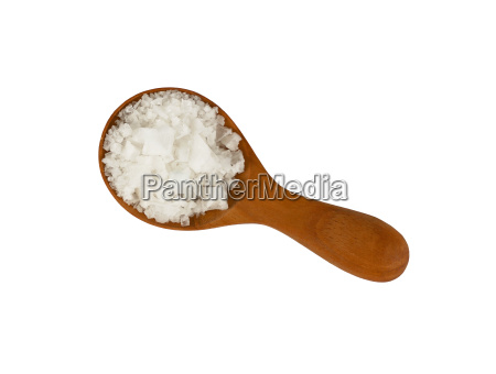 wooden spoon of white cyprian pyramid