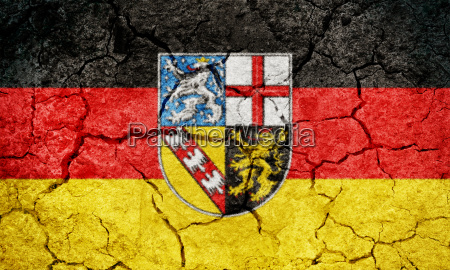 saarland state of germany flag