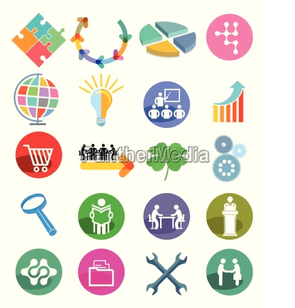 info communication shopping collaboration cooperation business