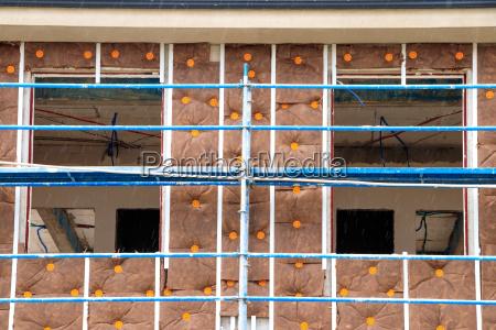 construction site scaffold