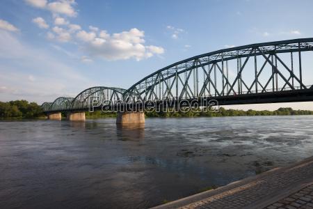 pilsudskiego, bridge, on, vistula, river, in - 24370284