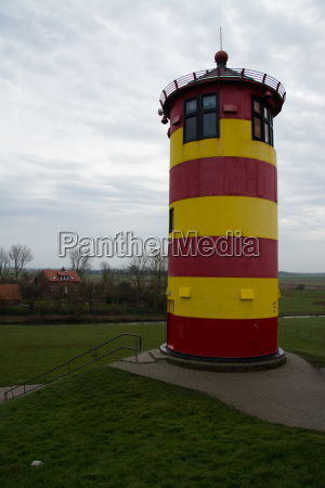 pilsumer lighthouse lower saxony germany