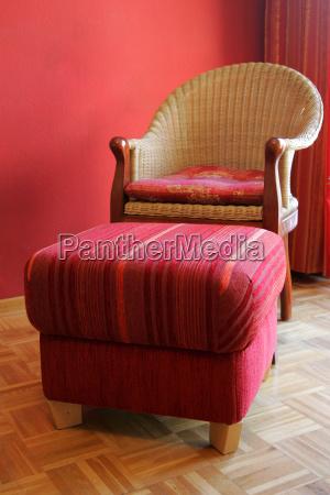 armchair stool inside indoor photo furniture