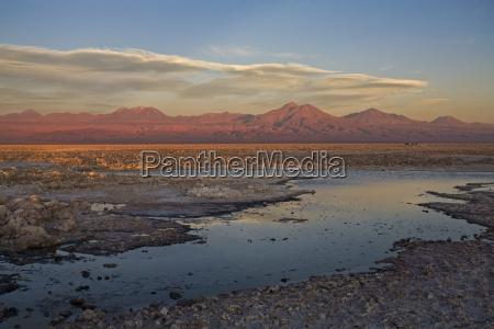 salt travel mountains american sunset cloud