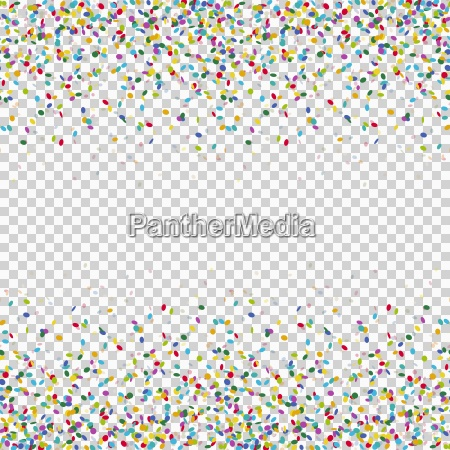 seamless colored confetti background with vector