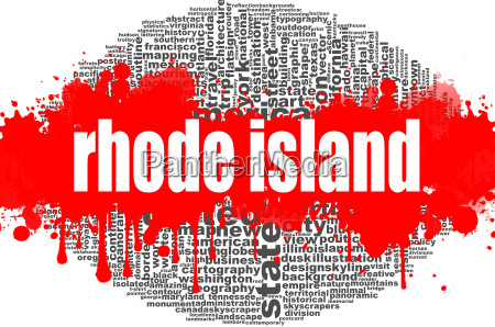 rhode island word cloud design