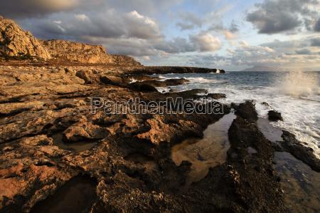 adia bay karpathos island aegaic islands