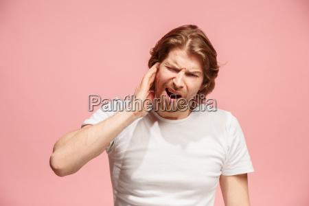 the ear ache the sad man