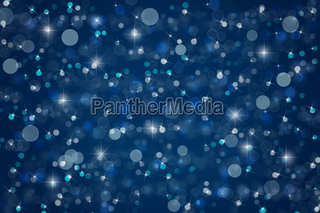 abstract blue christmas winter background