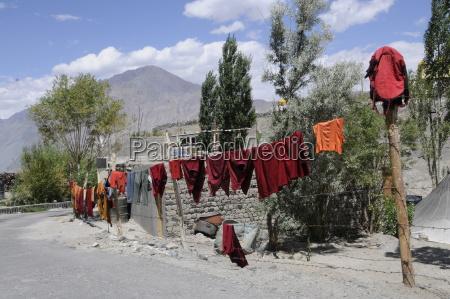 asia india asiatic monastery deserted to