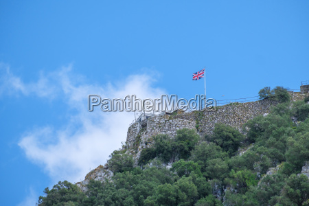 union jack at the top of