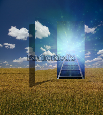 open portal to another dimension