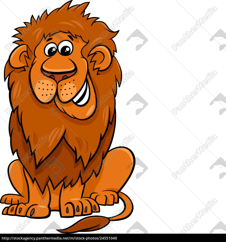 lion, animal, character, cartoon, illustration - 24551040