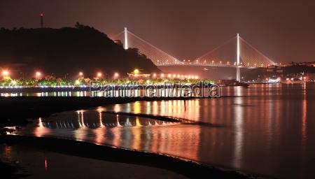 bridge between bai chay and hong