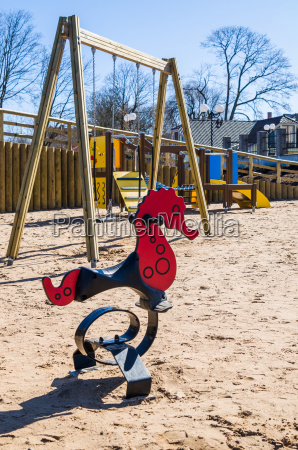 childrens swing in the form of