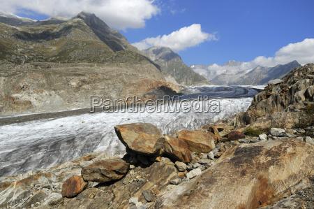 great aletsch glacier unesco world heritage