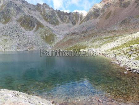 gaislacher see OEtztal alps
