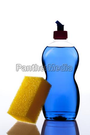 detergent with sponge