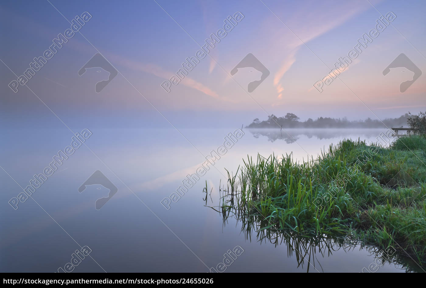 flogelner, see, in, the, morning, flogeln, lower, saxony, germany, europe - 24655026