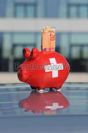 bank lending institution glass chalice tumbler