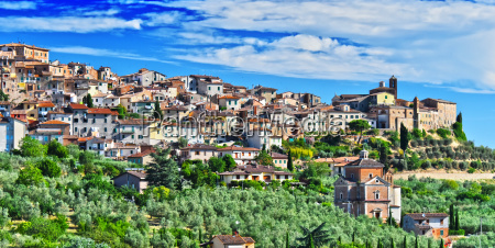 city of chianciano terme in tuscany