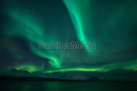 northern lights lygenfjord