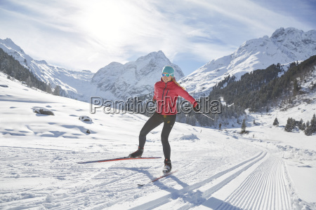 austria tyrol luesens sellrain cross country