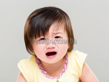 crying baby girl