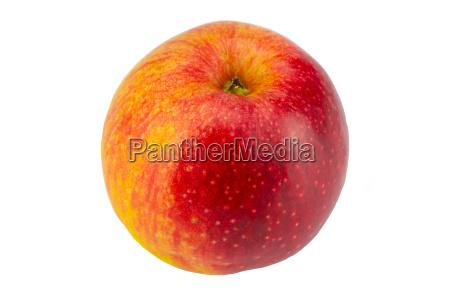 closeup fresh ripe apple fruit on