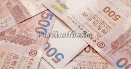 pile of hk dollar