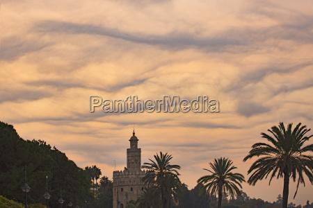 spain seville torre del oro unusual