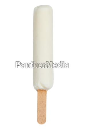ice cream on stem milk ice