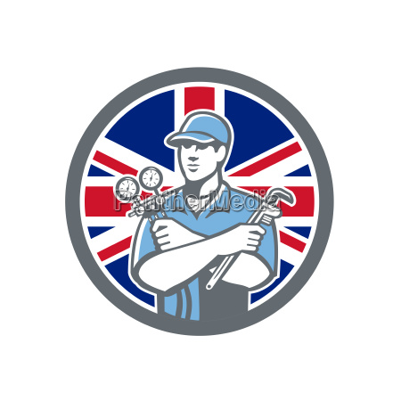 british refrigeration mechanic icon