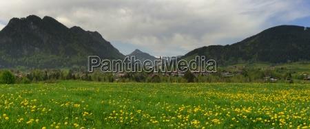 pfonten in the allgaeu mountains to