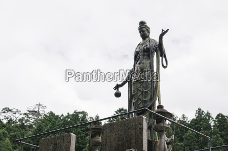 low angle view of buddhas statue