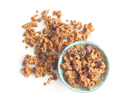 the chocolate granola breakfast cereals