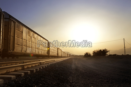 freight train on track