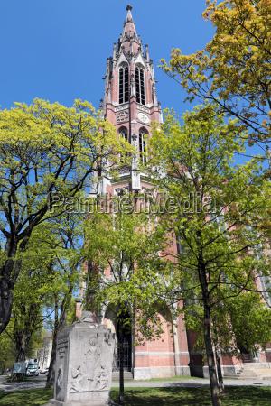 holy cross church on the giesinger
