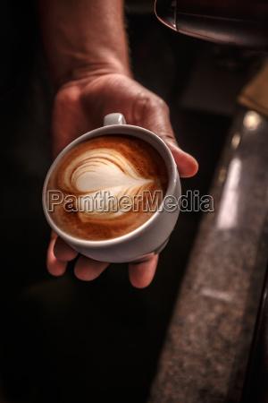 coffee service concept