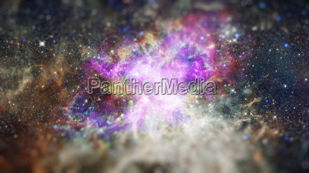 deep outer space with stars and