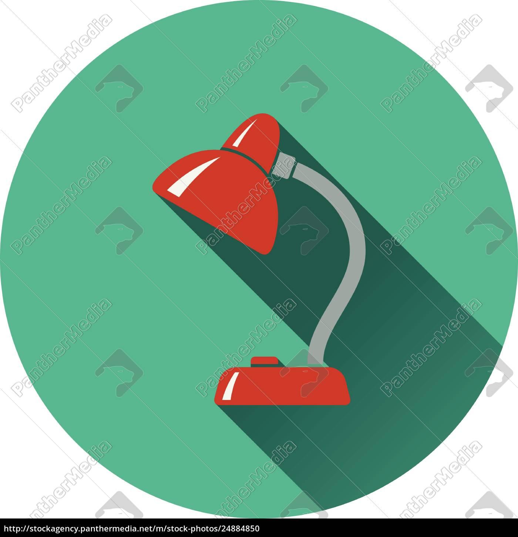 flat, design, icon, of, lamp, - 24884850