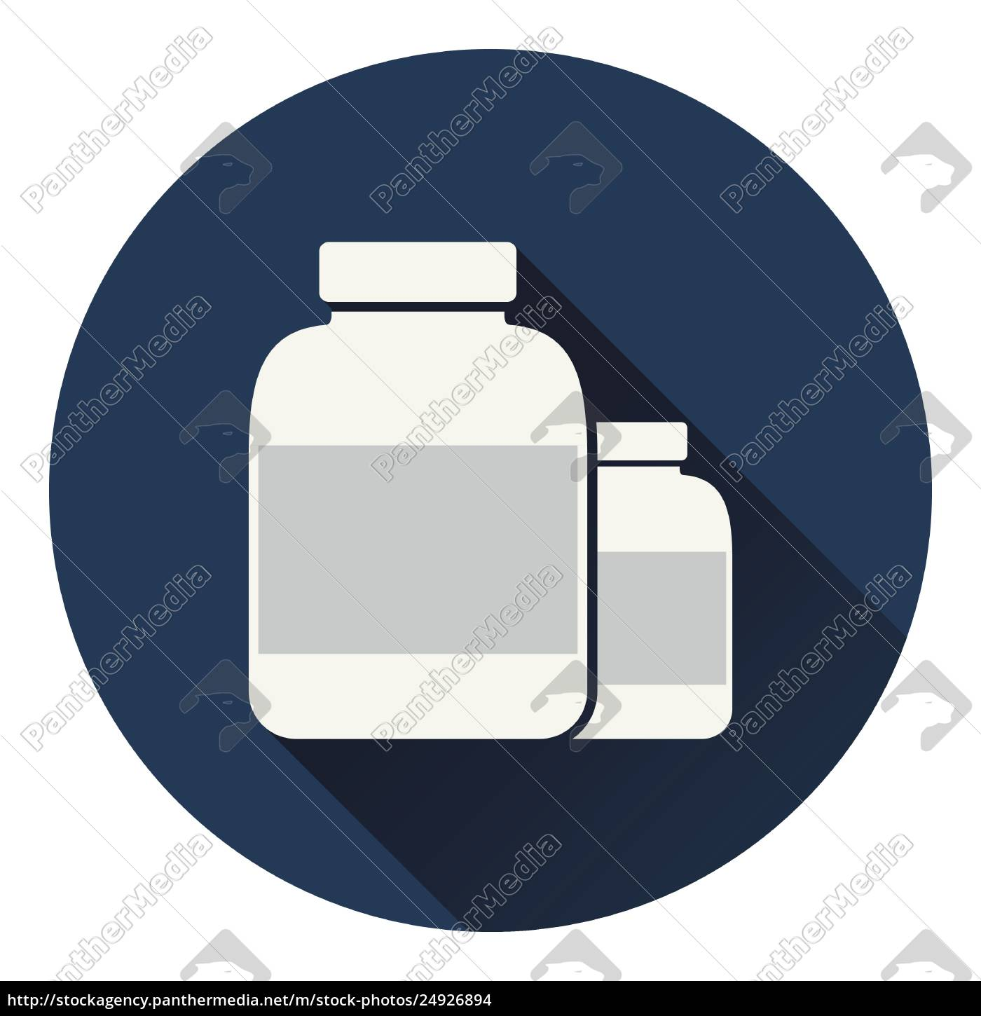 pills, container, icon - 24926894