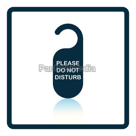don't, disturb, tag, icon - 24928764
