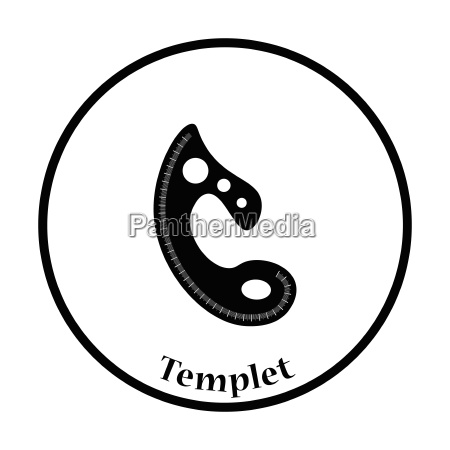 tailor templet icon