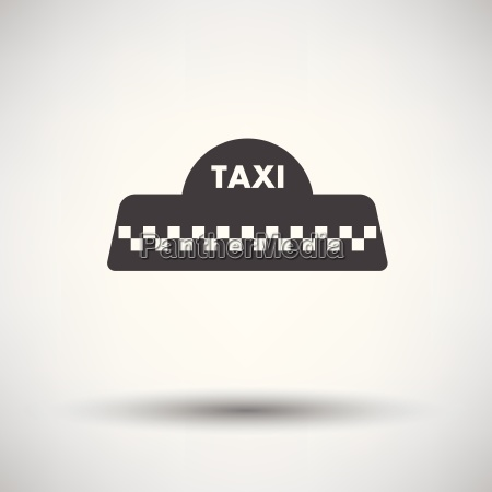 taxi roof icon