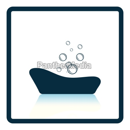 baby bathtub icon